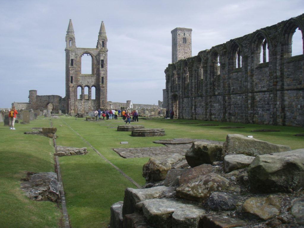 Things to do in St Andrews : St Andrews Cathederal