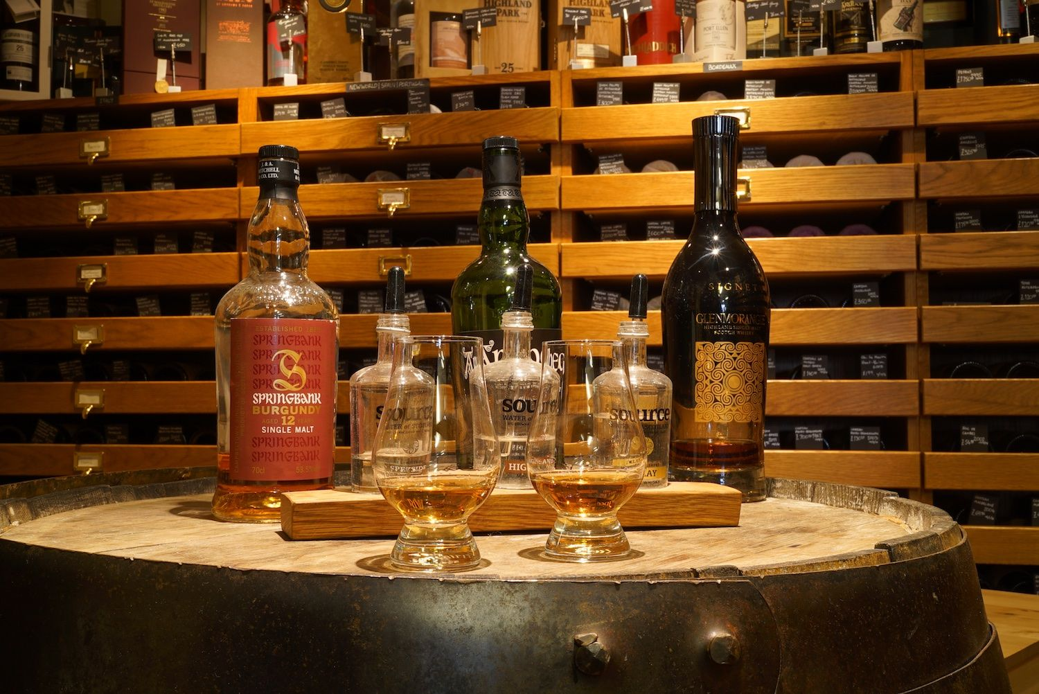 Whisky tasting Luvians